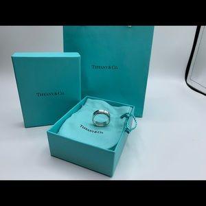 Tiffany 1837 band ring
